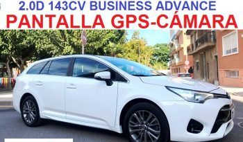 TOYOTA AVENSIS TOURING SPORTS 2.0D 143CV 6 VELOCIDADES;AÑO: 2016 lleno