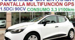 RENAULT CLIO (IV) 1.5DCi 90CV ENERGY BUSINESS; AÑO: 8-2016