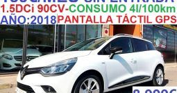 RENAULT CLIO ST LIMITED EDITION 1.5DCi 90CV EURO 6;AÑO:2018