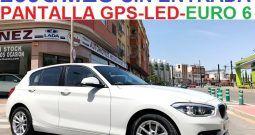 BMW 116 DIESEL PAQUETE M  5 PUERTAS  EURO 6 ;AÑO:2017