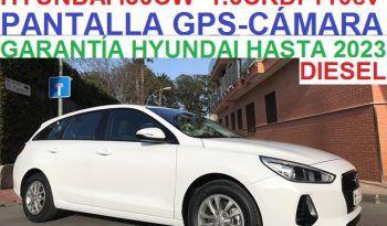 HYUNDAI i30CW LINK 1.6CRDi 110CV 6 VELOCIDADES;AÑO: 2018 lleno
