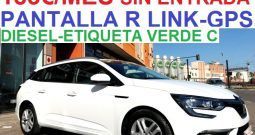 RENAULT MEGANE SPORT TOURER 1.5DCi 110CV ;AÑO:2017